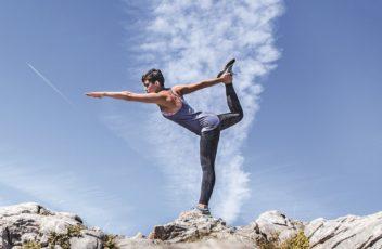 Yoga am Berg Tinski zugeschn