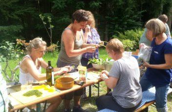 Wildes Kochen (c) Annett Ender
