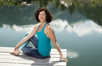 Sandra Koenig at Atme die Berge Gastein