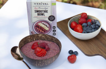 Verival_Porridge Smoothie Bowl_Erdbeer-Himbeer_Image_high